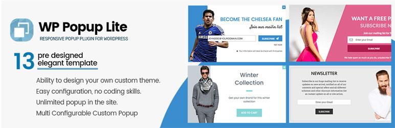 WP Popup Lite - Responsive WordPress Popup Plugin FREE