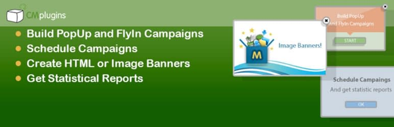 CM Pop Up Banners - Free WordPress Plugin for Popup Banners