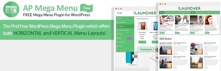 Free Mega Menu Plugin for WordPress