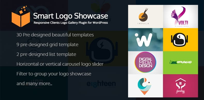 Smart Logo Showcase - Client Logo Gallery Plugin for WordPress