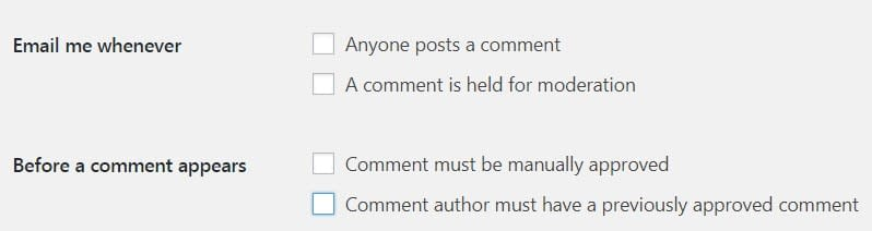Enable comment in WordPress page and post.
