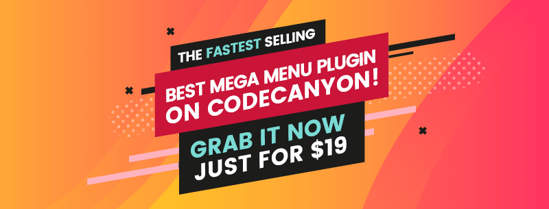 WP Mega Menu - Fastest Seller