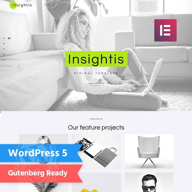 Insightis Feminine Blog Themes