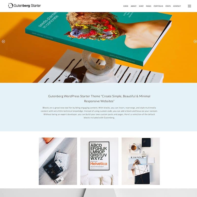 Gutenberg Starter WordPress Theme