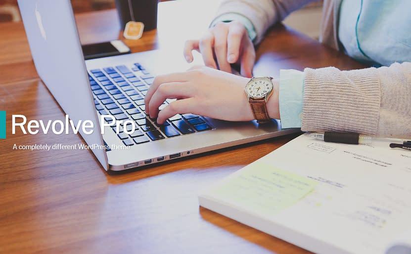 Revolve Pro - Best Premium WordPress One-Page Themes 2017