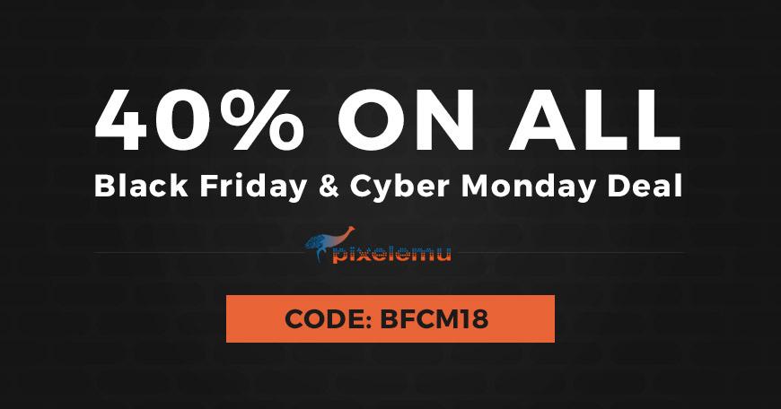 PixelEmu - Black Friday and Cyber Monday WordPress Deal 2018