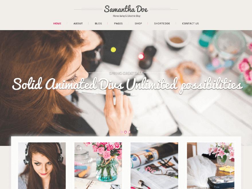 SKT_grilie-lite - Free Photography WordPress Theme