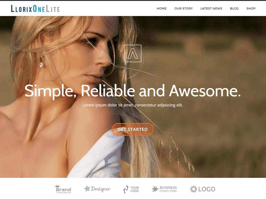 liorix-one-lite gaga-lite-free-WordPress-landing-page-theme