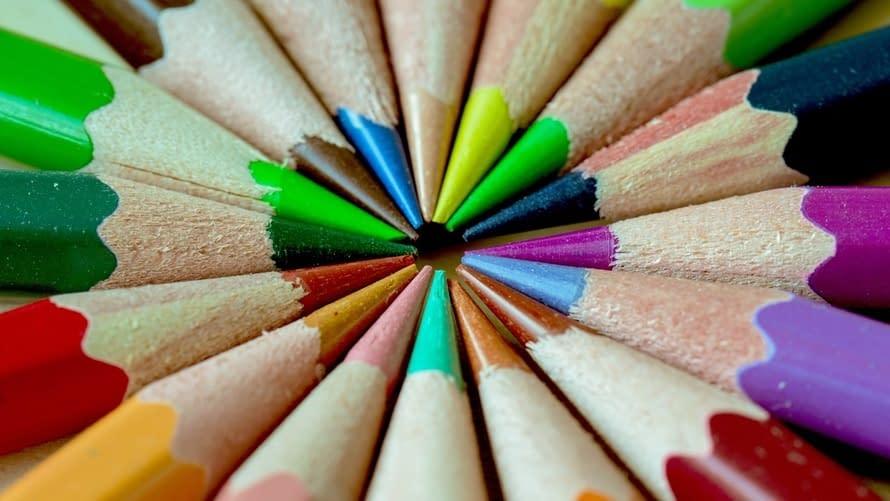 use bright colors
