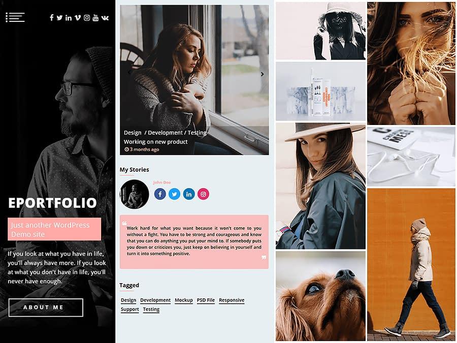 ePortfolio - WordPress Portfolio Theme