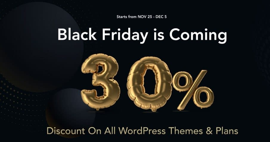 AThemes - Black Friday & Cyber Monday Deal