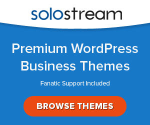 20% Off in all WordPress Themes by SoloStream