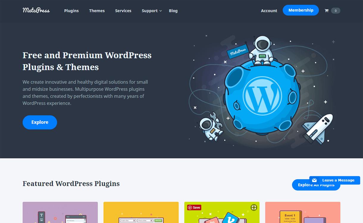 15% Off in WordPress Plugin by MotoPress