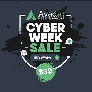 Avada Cyber Monday Sales
