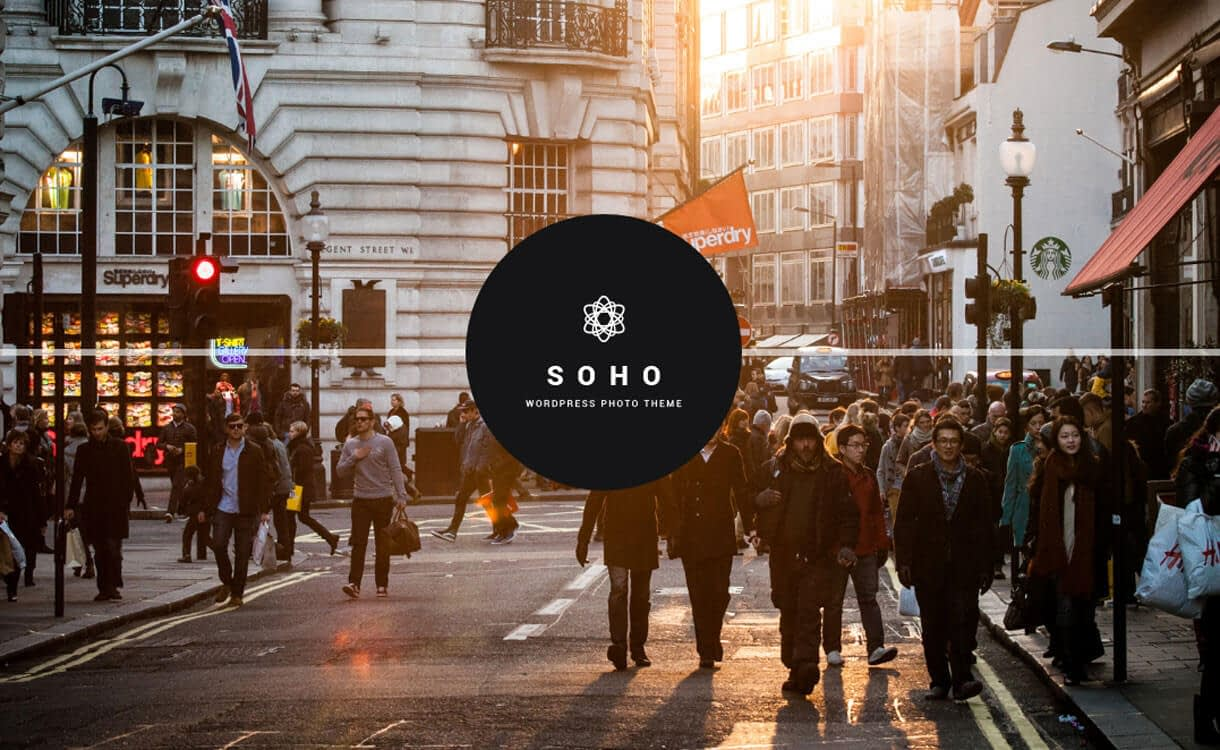 Soho - 15+ Best Responsive WordPress Video Themes 2019