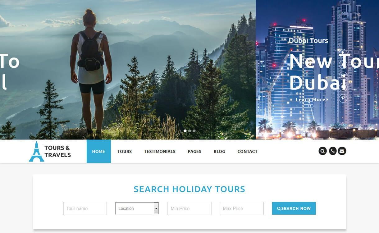 luxury travel best travel blogs wordpres themes 1 - 21+ Best WordPress Travel Blog Themes 2019