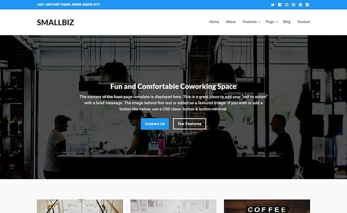 Smallbiz - Premium Business WordPress Theme