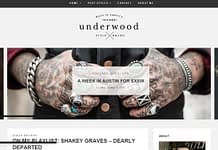 Underwood - Modern WordPress Blogging Theme