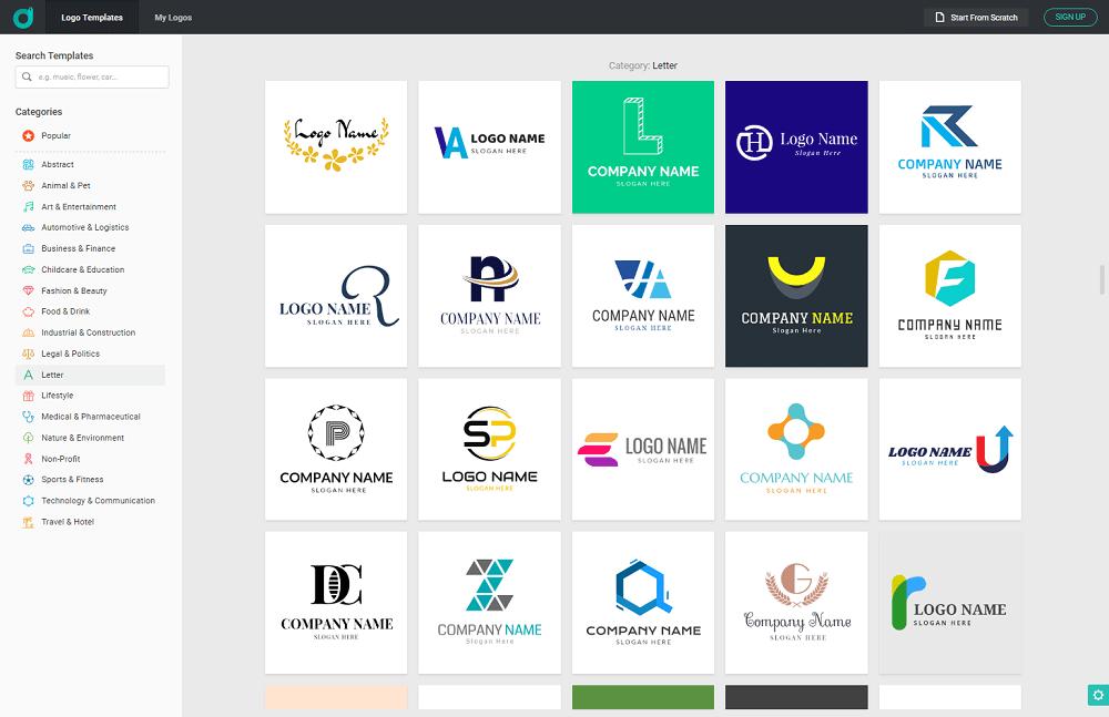 Online Logo Designing Platform