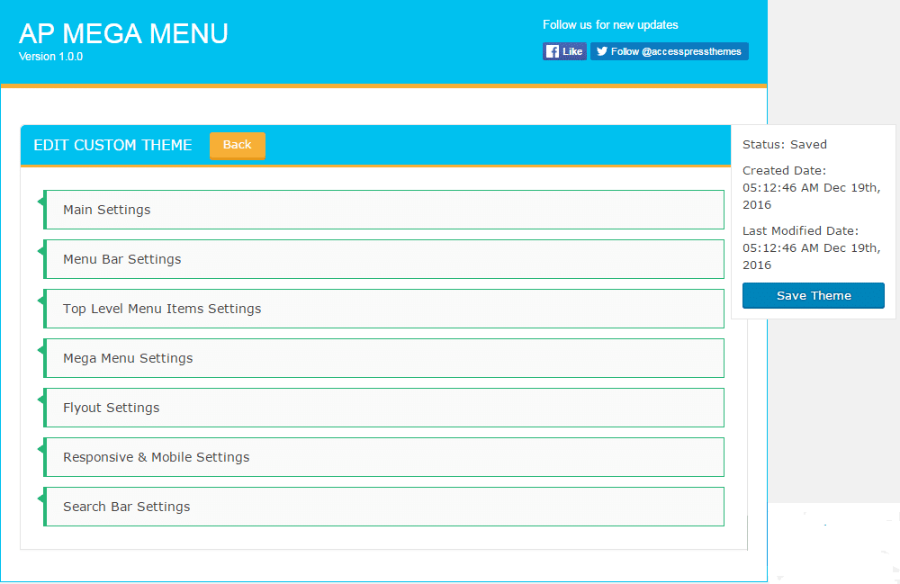 custom template option - How to add Mega Menu on WordPress Website Using AP Mega Menu plugin? (Step by Step Guide)