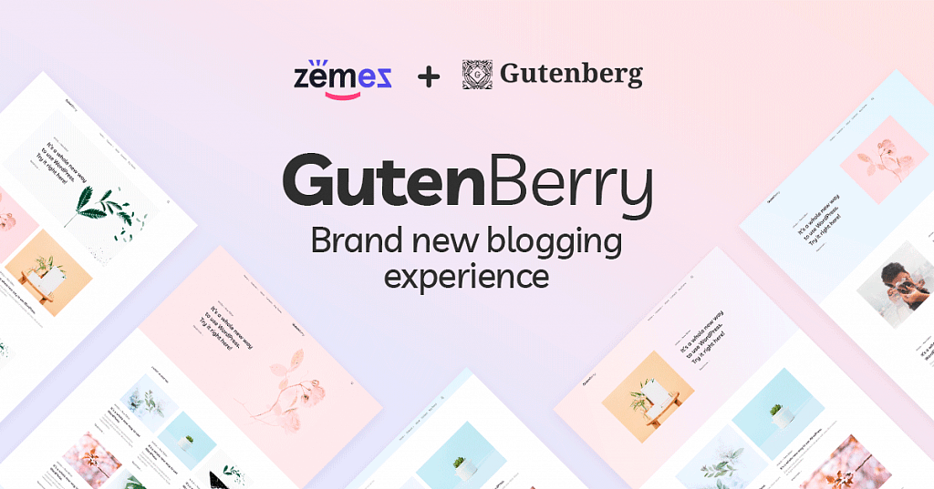 GutenBerry - WordPress Gutenberg Theme