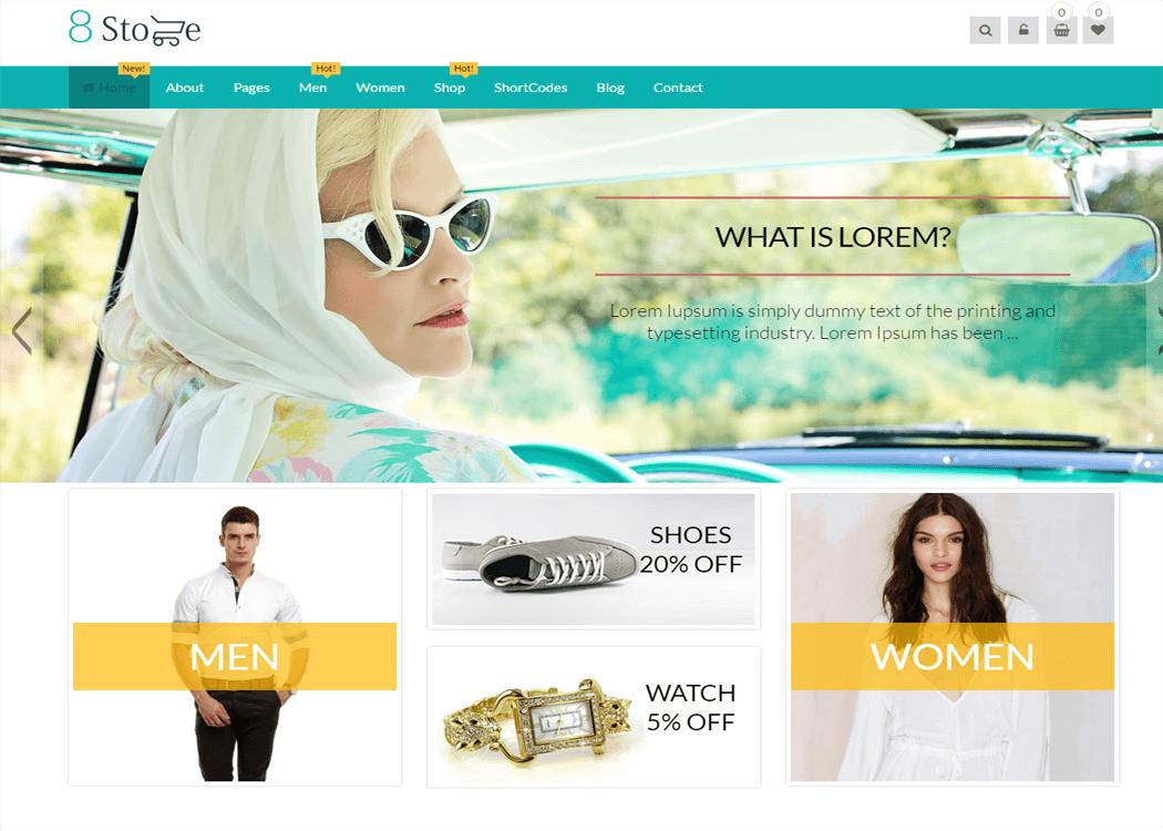 EightStore Pro - WordPress eCommerce Theme