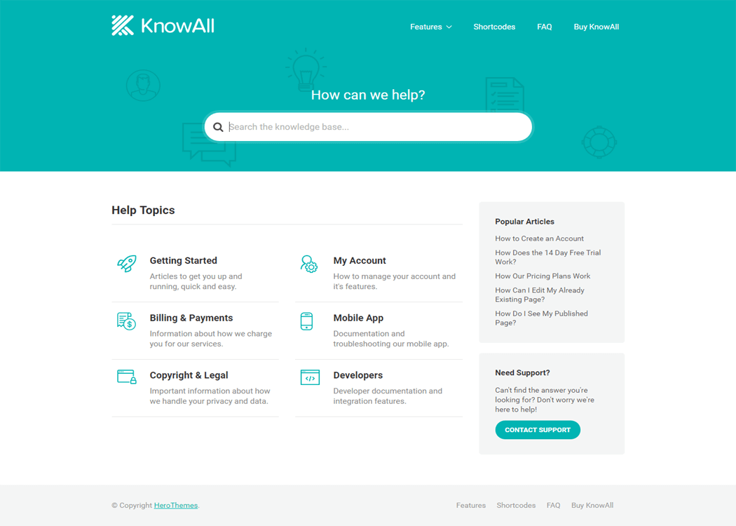 KnowAll - WordPress Education Theme