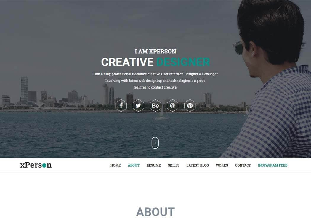 xPerson - Best Premium WordPress Themes and Templates