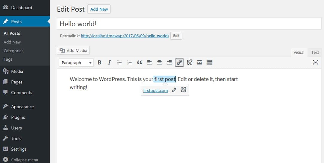 link - WordPress 4.8 Released! What's New Features on WordPress 4.8?