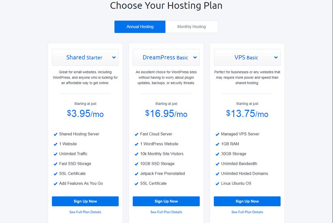 Hosting Web Hosting Plans Starting 3 95 mo – DreamHost as Smart Object 1 1 - DreamHost - Affordable Hosting for WordPress