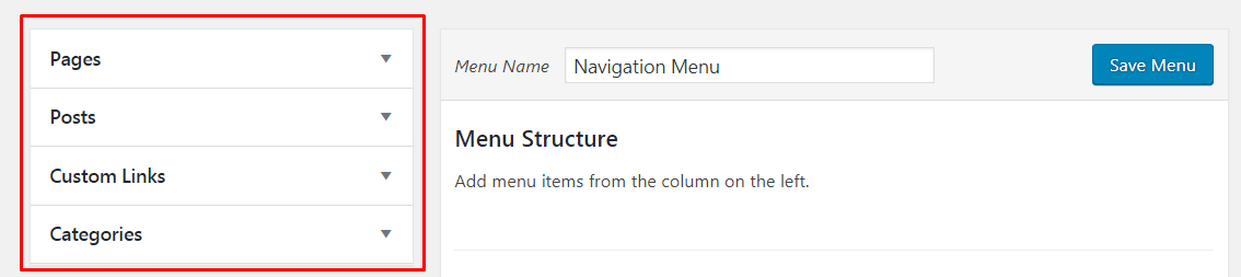 Add Specific Posts to WordPress Navigation Menu.