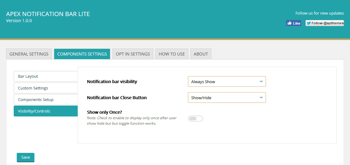 apex visibility control - How to Add Notification Bar on WordPress Website? (Step by Step Guide)