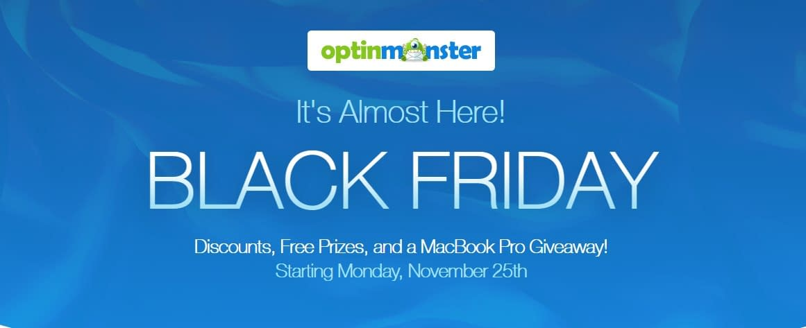 OptinMonster - Black Friday and Cyber Monday Deal 2019