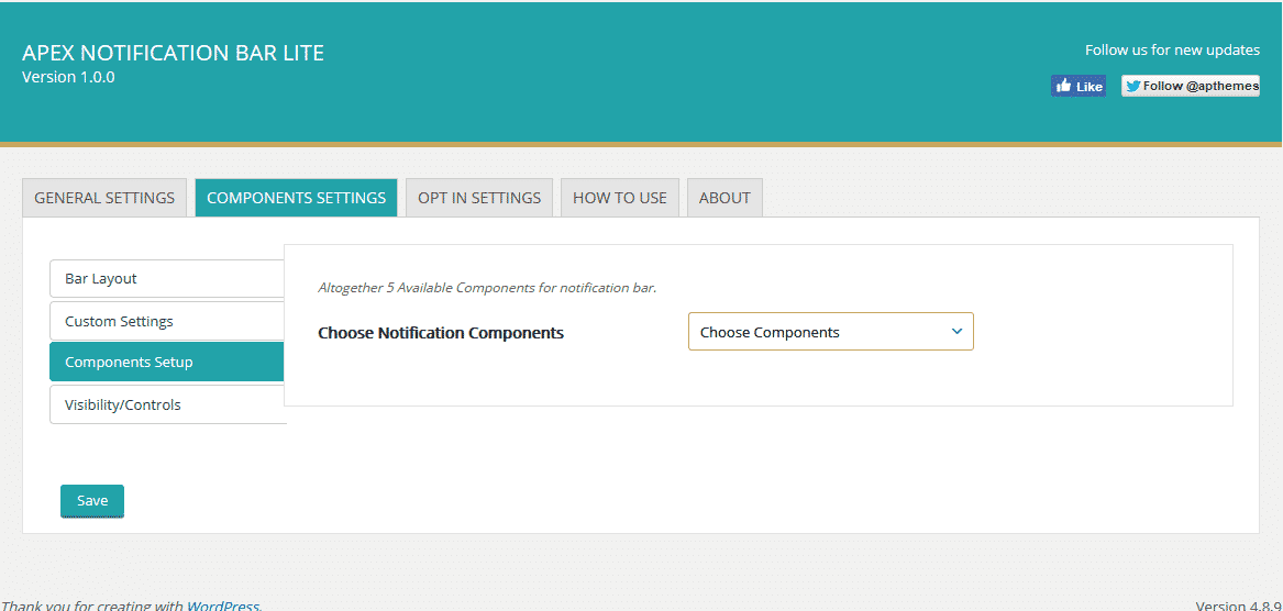 apex components setup - How to Add Notification Bar on WordPress Website? (Step by Step Guide)