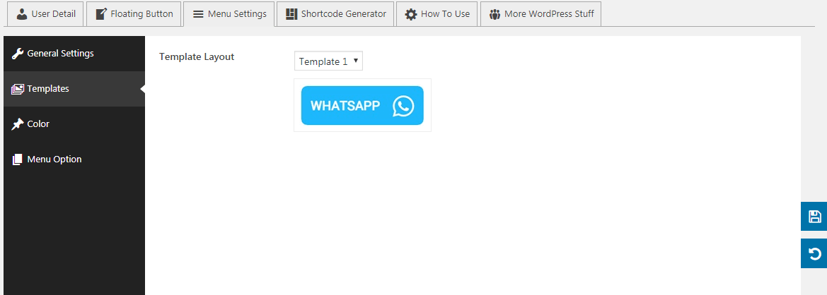 wp whatsapp button menu templates - How to Add WhatsApp Button on WordPress Website? (Step by Step Guide)