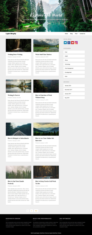 lightblogify best free review wordpress theme - 10+ Best Free Review WordPress Themes
