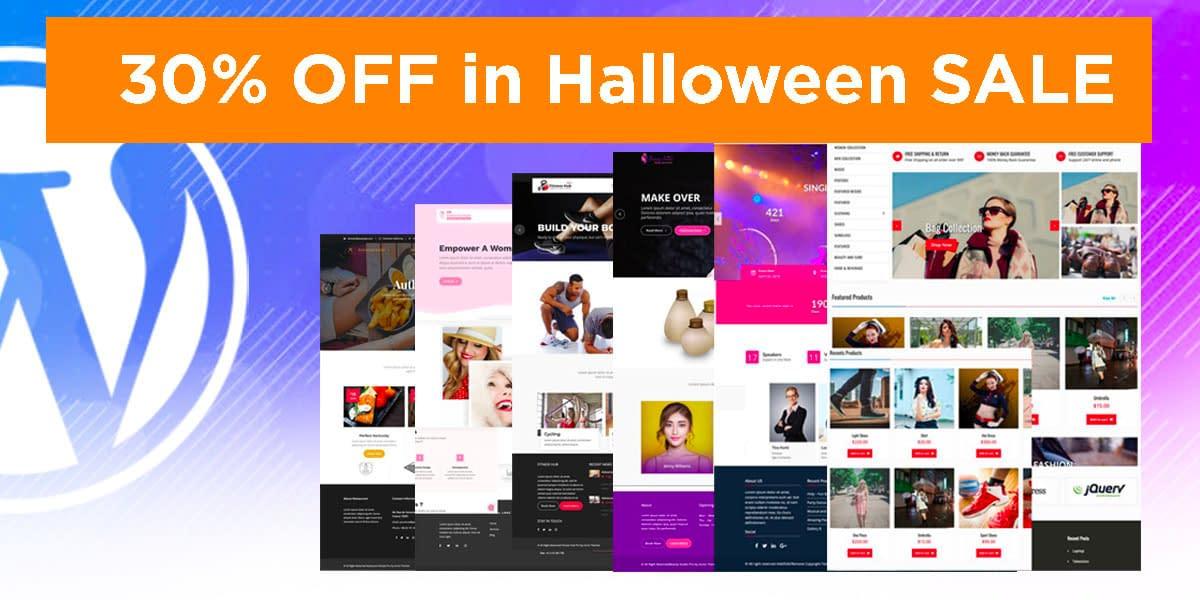 Acme Themes- WordPress Halloween Deal