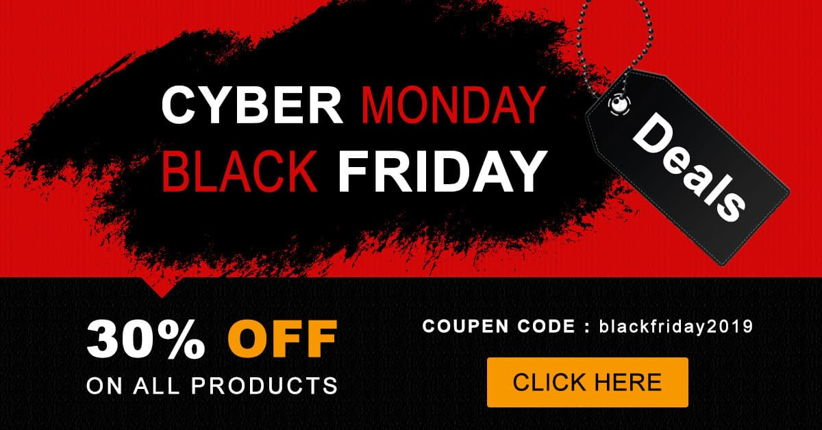 Template Sell - Black Friday Cyber Monday Deal