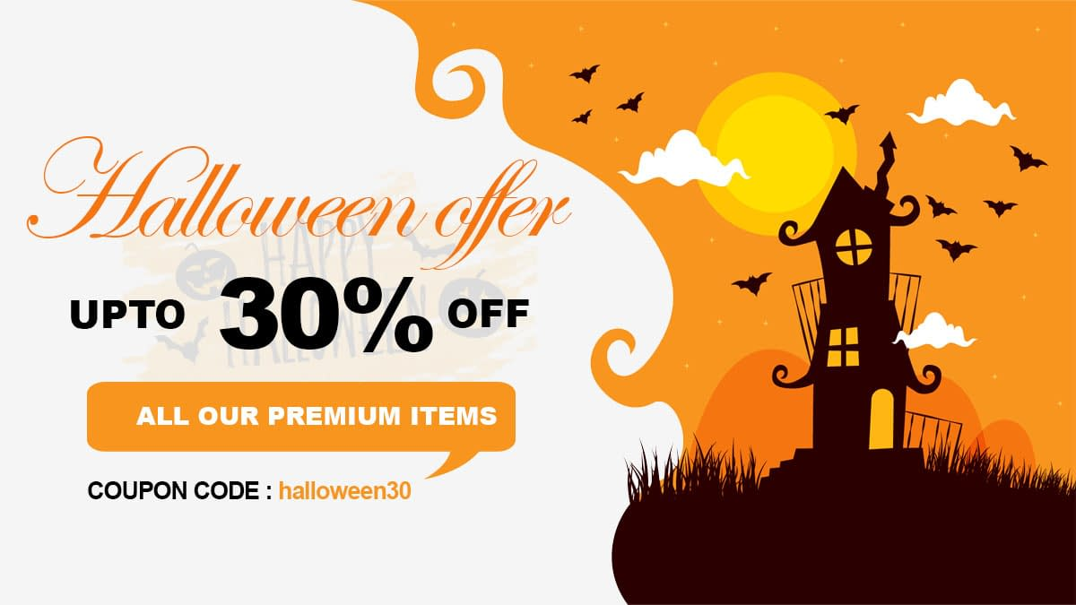 TemplateSell Halloween WordPresss Deals and Discounts