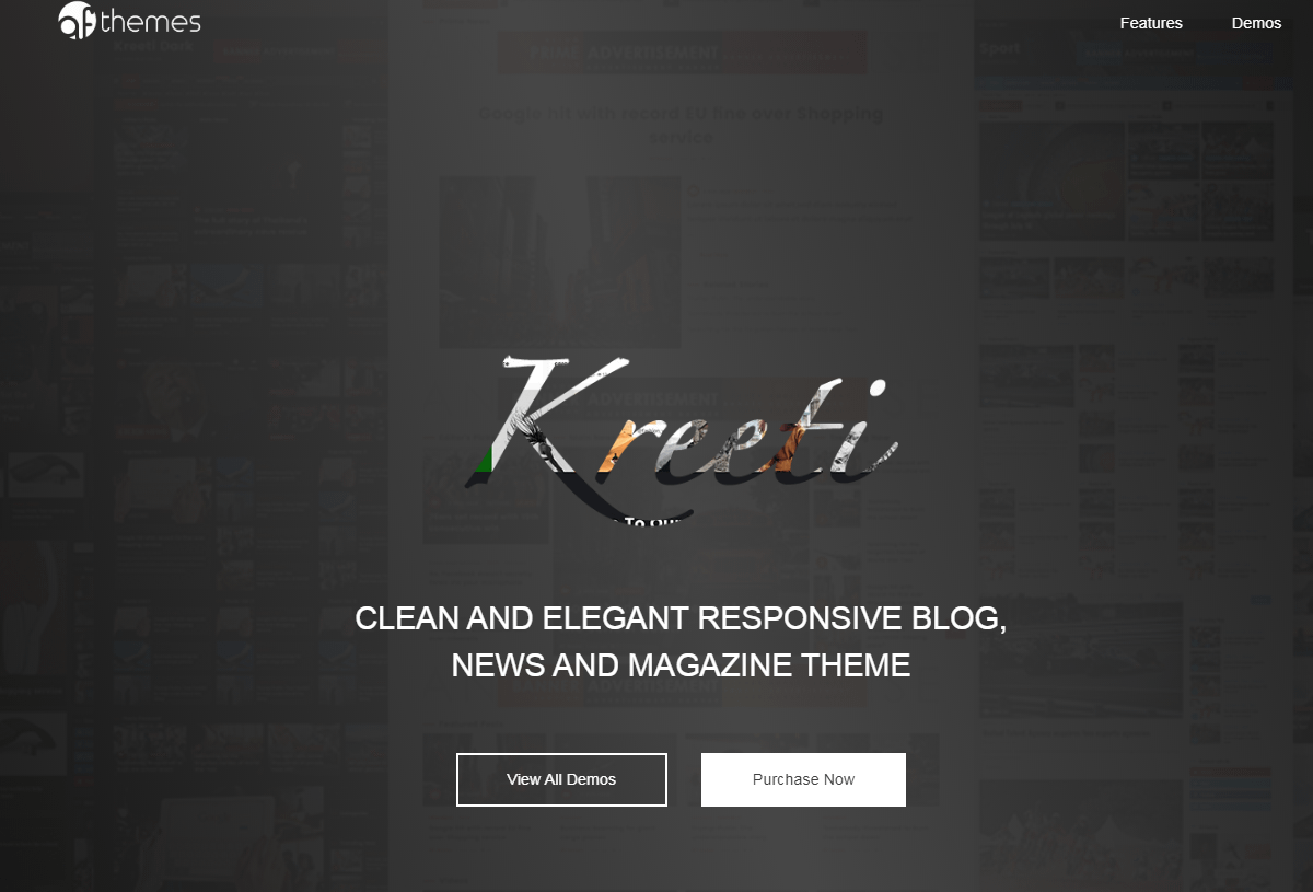 Kreeti - WordPress Gutenberg Theme