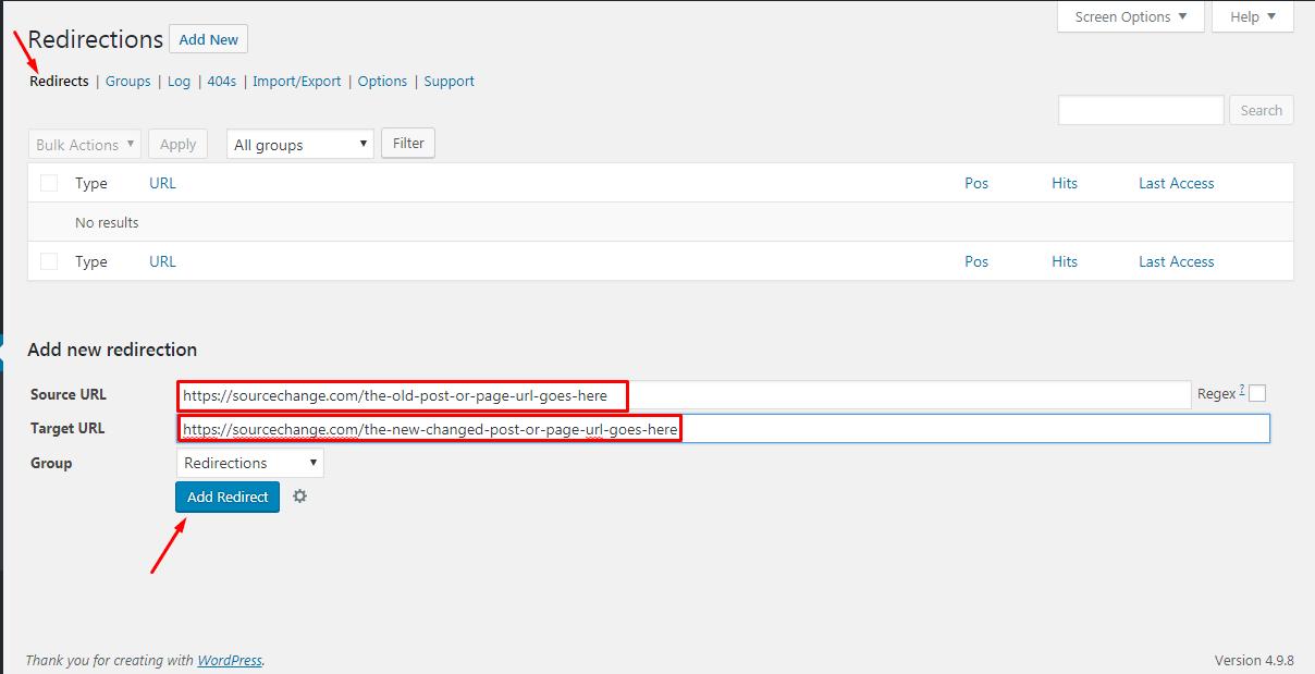Redirecting links in WordPress 1 - How to Redirect links in WordPress?