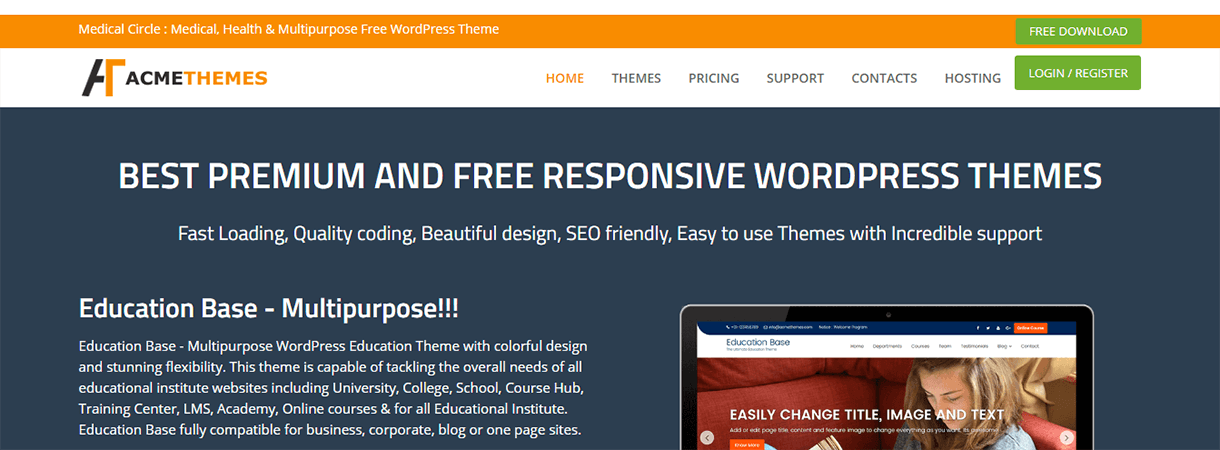 Acme Themes - Best WordPress Christmas and New Year Deals
