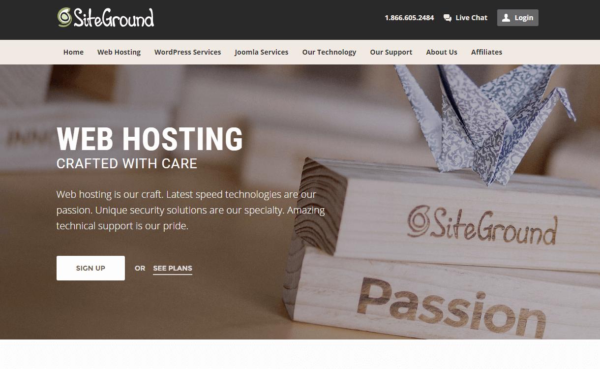 Siteground WordPress Black Friday Deals Discounts