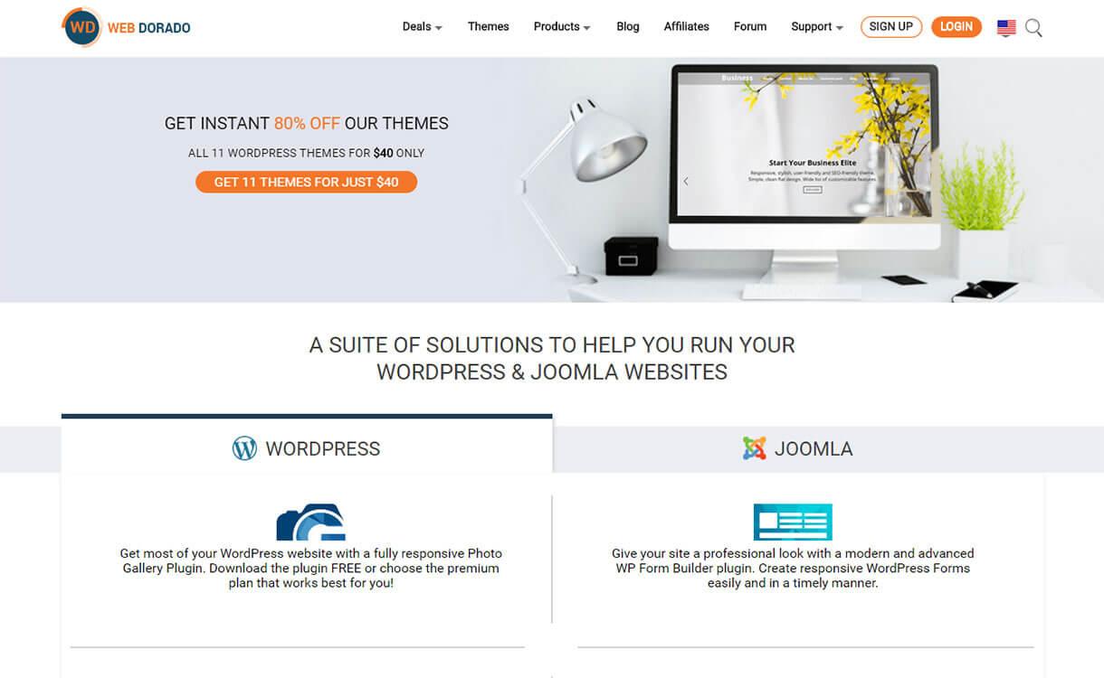 web-dorado WordPress Black Friday Deals Discounts