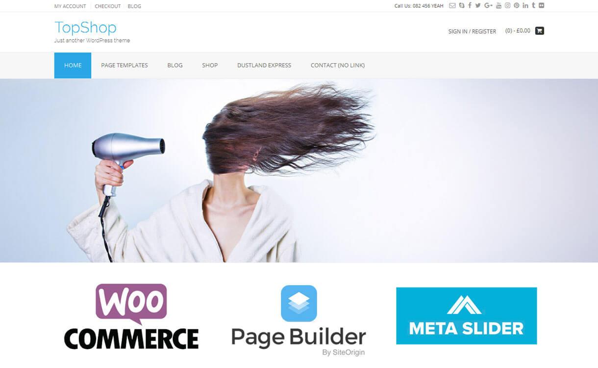 topshop best wordpress ecommerce themes