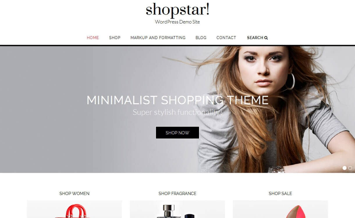 shopstar best free wordpress ecommerce themes