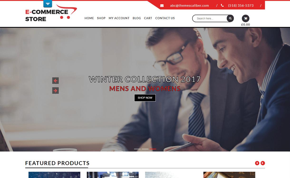 TC E-Commerce Shop-Best Free WordPress eCommerce Themes