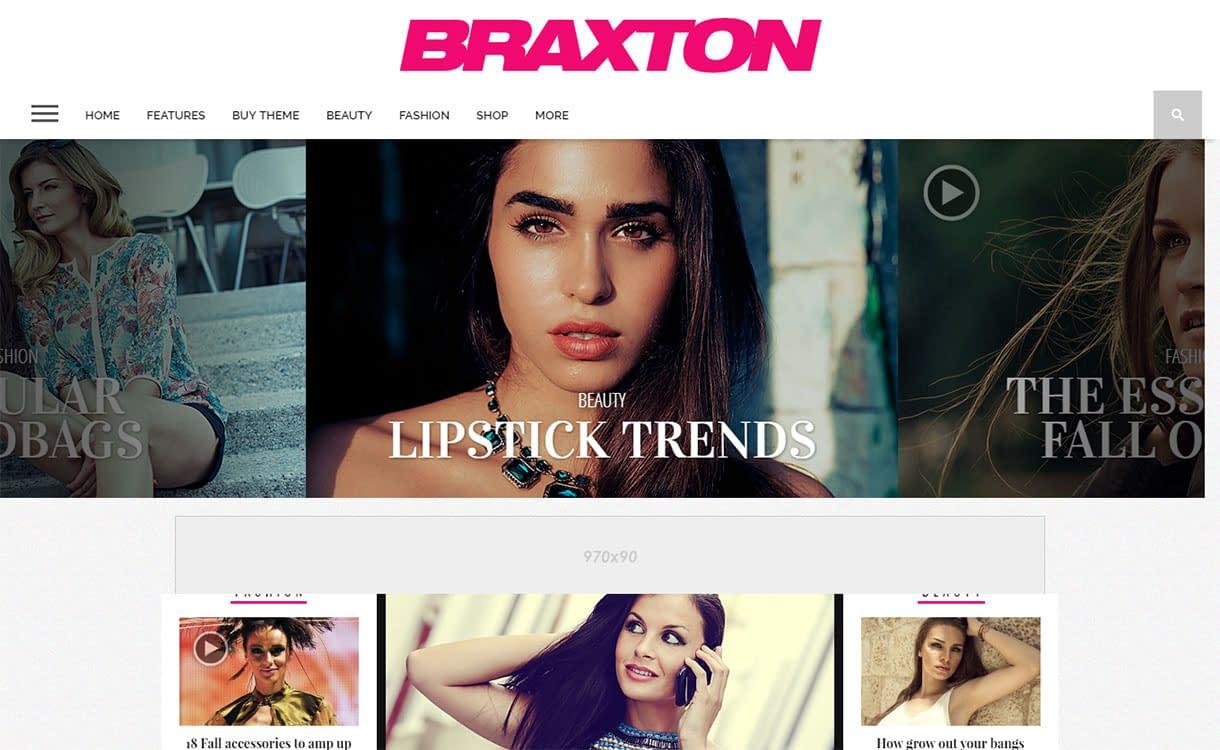 Braxton - WordPress Magazine Theme