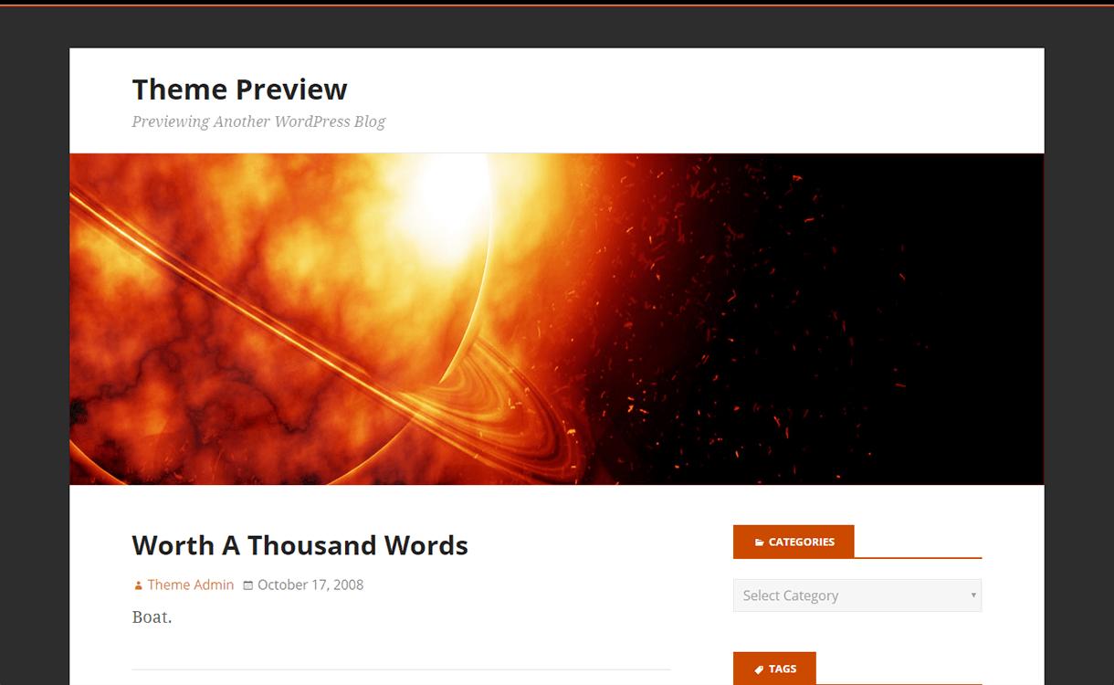 Stargazer-WordPress Material Design Theme