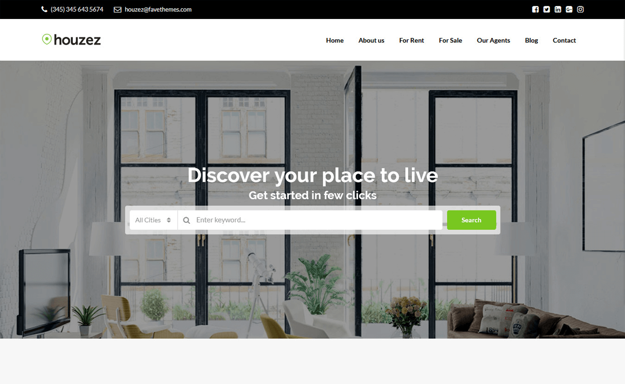 Houzez-Free & Premium Real Estate WordPress Themes